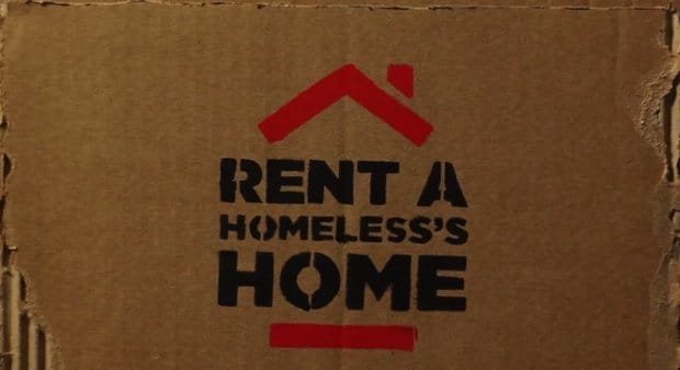 Alquila la casa de una persona sin techo en Brasil