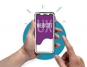 website UX icono