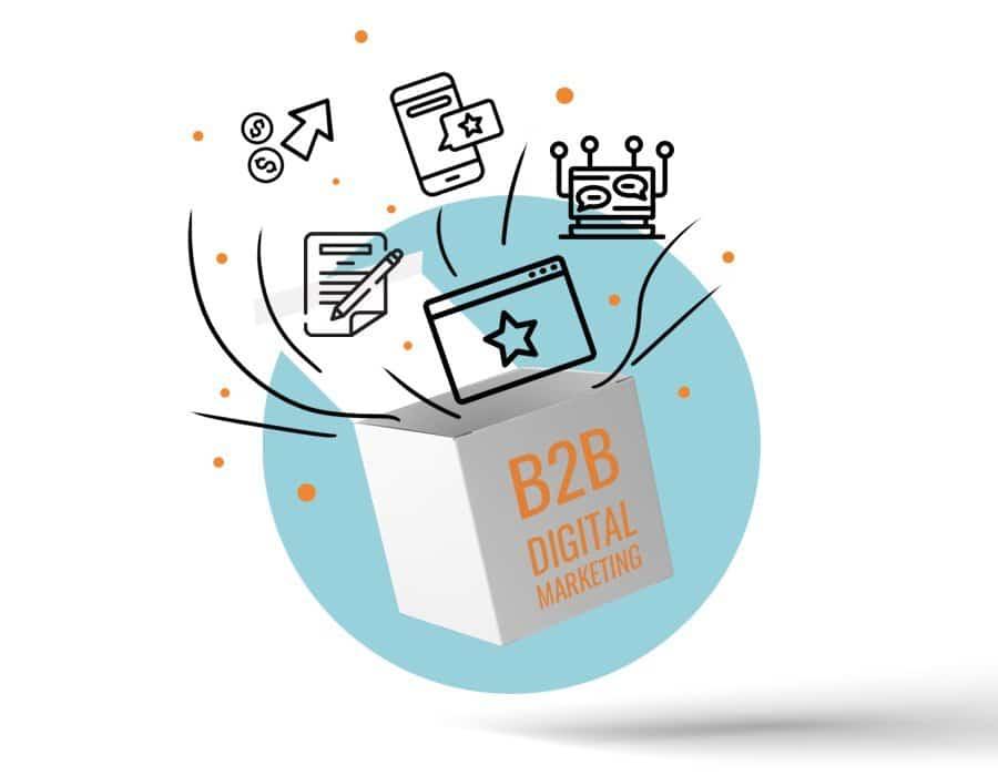 B2B Digital Marketing Strategies imagen destacada