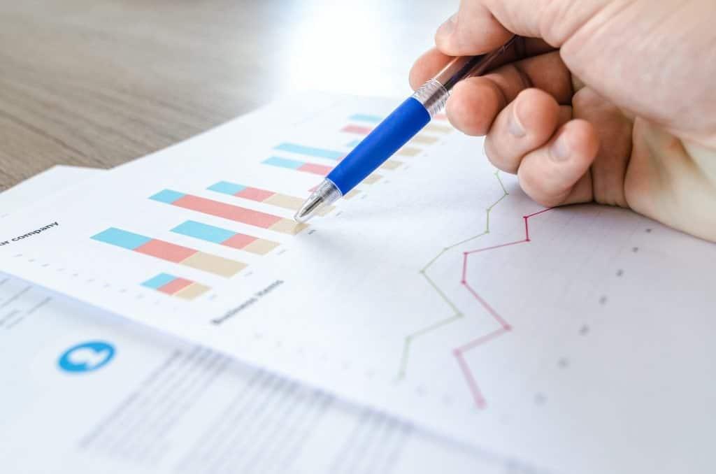 metrics on paper sheet